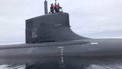 Mỹ bất ngờ công bố hình ảnh về tàu ngầm tấn công lớp Seawolf