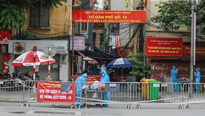 Sáu ca mắc Covid-19 mới nhất ở Hà Nội đều đã được cách ly