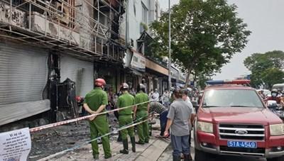 Bắt khẩn cấp đối tượng gây ra vụ cháy tại Phòng giao dịch Eximbank