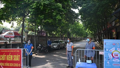 Hà Nội: Ổ dịch mới ở Long Biên đã có 7 ca mắc Covid-19