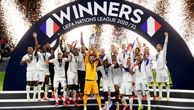 Mbappe ghi bàn tranh cãi, Pháp thắng Tây Ban Nha vô địch Nations League