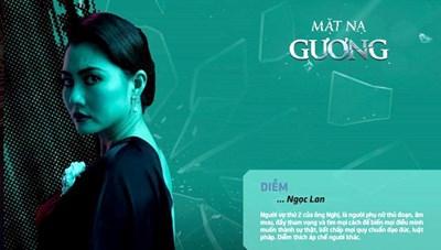 Ngọc Lan stress với vai Diễm 'đa nhân cách' trong 'Mặt nạ Gương'