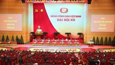 Dự thảo Báo cáo Chính trị của Ban Chấp hành Trung ương Đảng khóa XII tại Đại hội Đại biểu toàn quốc lần thứ XIII của Đảng