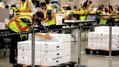 Bầu cử Mỹ: Khi nào các bang quan trọng còn lại hoàn thành kiểm phiếu?