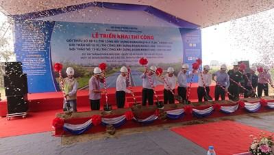 Khởi công 3 gói thầu cao tốc Mai Sơn – QL45