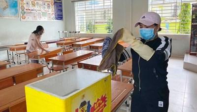 TP HCM: Khoảng 2.000 học sinh được nghỉ học, tránh lây lan Covid-19