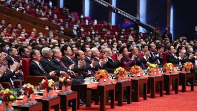 [ẢNH] 2.300 đại biểu dự Đại hội Thi đua yêu nước toàn quốc lần thứ X