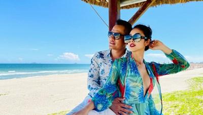 'Sao' Việt trong ngày: Jennifer Phạm rạng rỡ bên chồng, doanh nhân Đức Hải
