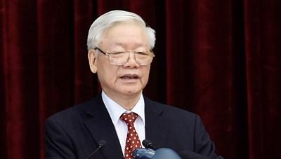 Phát biểu của Tổng Bí thư, Chủ tịch nước Nguyễn Phú Trọng tại Hội nghị TƯ lần thứ 14