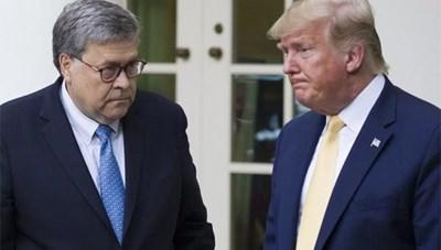 Bộ trưởng Tư pháp Mỹ từ chức khi ông Trump chỉ còn 1 tháng tại nhiệm