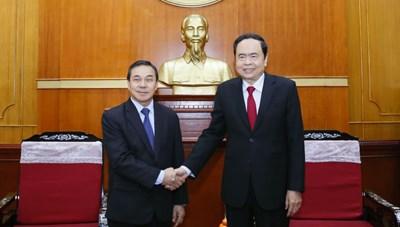 Củng cố và phát triển mối quan hệ hữu nghị, hợp tác toàn diện Việt Nam-Lào