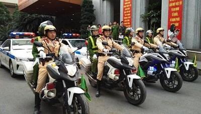 Hà Nội phân luồng giao thông diễn tập bảo vệ Đại hội XIII