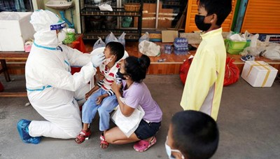 Thái Lan: Số ca mắc Covid-19 gia tăng