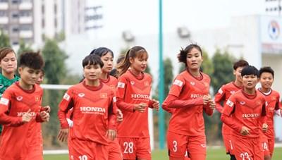 Đội tuyển nữ quốc gia: Tập trung cho mục tiêu World Cup