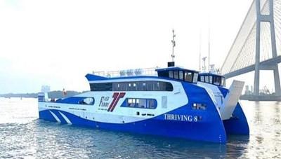 Khai trương phà biển tuyến Cần Giờ - Vũng Tàu