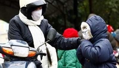 Trời lạnh buốt, người dân chủ động bảo vệ sức khỏe