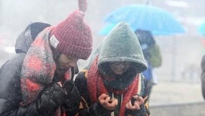 Miền Bắc tiếp tục đón đợt không khí lạnh tăng cường mới, có nơi dưới 0 độ C