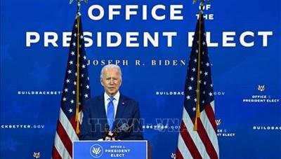 Chủ đề lễ nhậm chức của Tổng thống đắc cử Joe Biden sẽ là 'Nước Mỹ thống nhất'