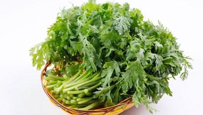 Món ăn từ rau cải cúc tốt tiêu hóa