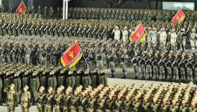 Dàn vũ khí tối tân Triều Tiên trong lễ duyệt binh