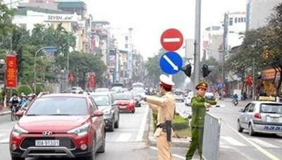 Từ 24/1 những xe nào bị cấm đường tại Hà Nội?