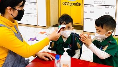 Hà Nội: Trường mầm non Tứ Liên nghỉ học khẩn cấp vì có học sinh tiếp xúc gần ca nghi mắc Covid-19