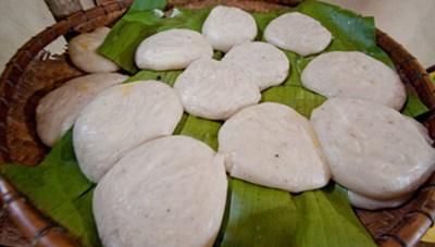 Đặc sản bánh giầy người Mông