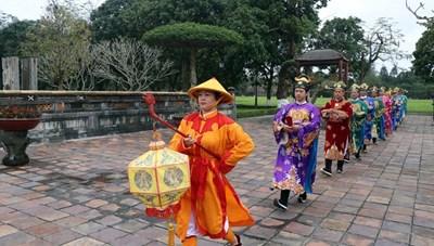 Sân khấu hóa lễ Tết Nguyên đán thời Nguyễn