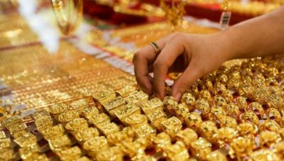 Giá vàng trong nước tăng mạnh nhất từ sau Tết