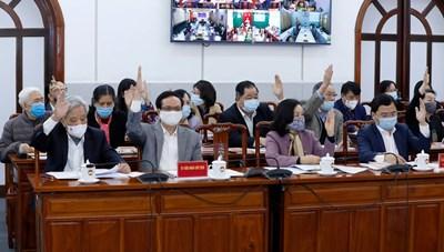 Hoàn thành tổ chức Hội nghị hiệp thương lần thứ nhất