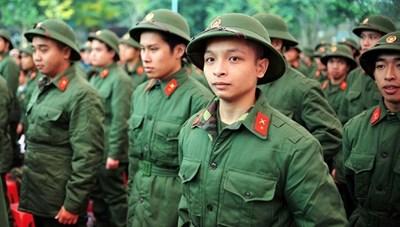 Thời gian sơ tuyển vào 17 trường quân đội từ ngày 1/3