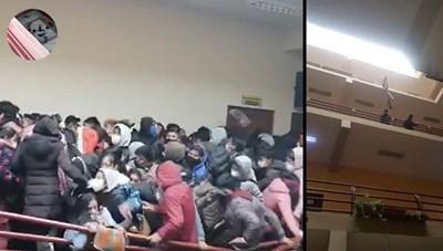 [VIDEO] Gãy lan can trường học, 7 sinh viên tử vong thương tâm