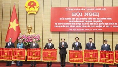 BẢN TIN MẶT TRẬN: Phát động thi đua cao điểm tổ chức thành công bầu cử ĐBQH và HĐND các cấp TP Hà Nội