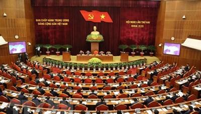 Ngày làm việc thứ nhất của Hội nghị lần thứ haiBan Chấp hành TƯ Đảng khoá XIII