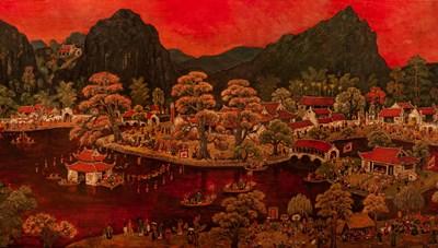'Miền ký ức' dưới góc nhìn của họa sĩ Chu Mạnh Chấn