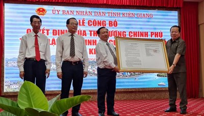 Thành lập Khu kinh tế cửa khẩu Kiên Giang
