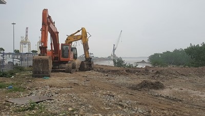Xung quanh việc lấn chiếm đất Bến phà Đình Vũ (Hải Phòng): Sở Giao thông Vận tải lên tiếng