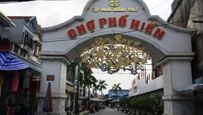 Thanh tra Chính phủ kiến nghị điều tra sai phạm tại chợ Phố Hiến