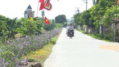 Hưng Yên:Hoàn thành xây dựng nông thôn mới