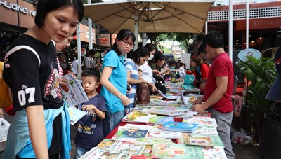 Đa dạng hoạt động nhân ngày sách Việt Nam lần thứ 8