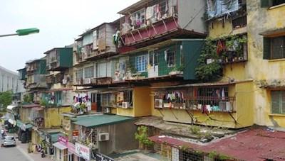 Hà Nội tìm cách cải tạo chung cư cũ
