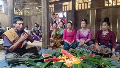 Đặc sắc lễ mừng cơm mới của dân tộc Lào