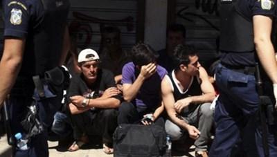 Hy Lạp triệt phá đường dây buôn người
