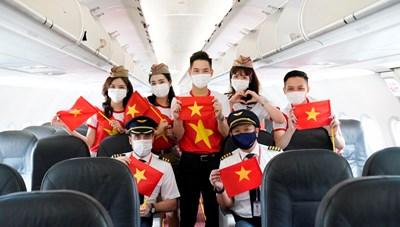 Vietjet lan tỏa 'Tự hào Việt Nam' mừng ngày thống nhất đất nước