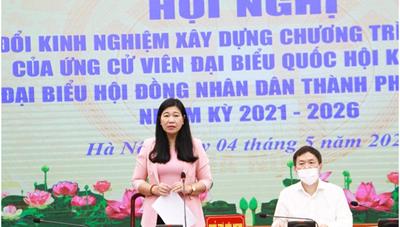 BẢN TIN MẶT TRẬN: Gặp mặt 40 ứng cử viên ứng cử ĐBQH và HĐND TP Hà Nội