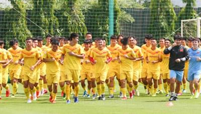 HLV Park Hang-seo chốt 34 cầu thủ đội tuyển U22 Việt Nam