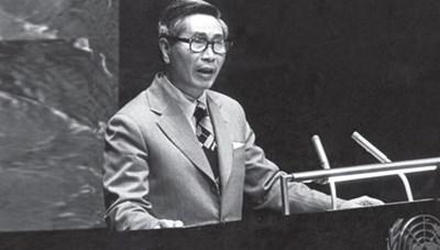 Kỷ niệm 100 năm ngày sinh cố Bộ trưởng Nguyễn Cơ Thạch tại New York