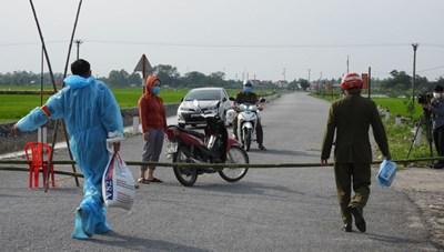 Bắc Ninh: Giãn cách xã hội toàn huyện Yên Phong từ 14h hôm nay