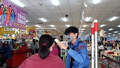 Siết phòng chống dịch tại chợ, siêu thị