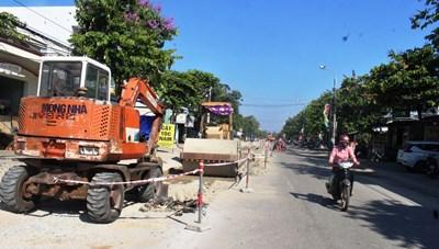 Quảng Nam: Công trình hàng trăm tỷ thi công ì ạch
